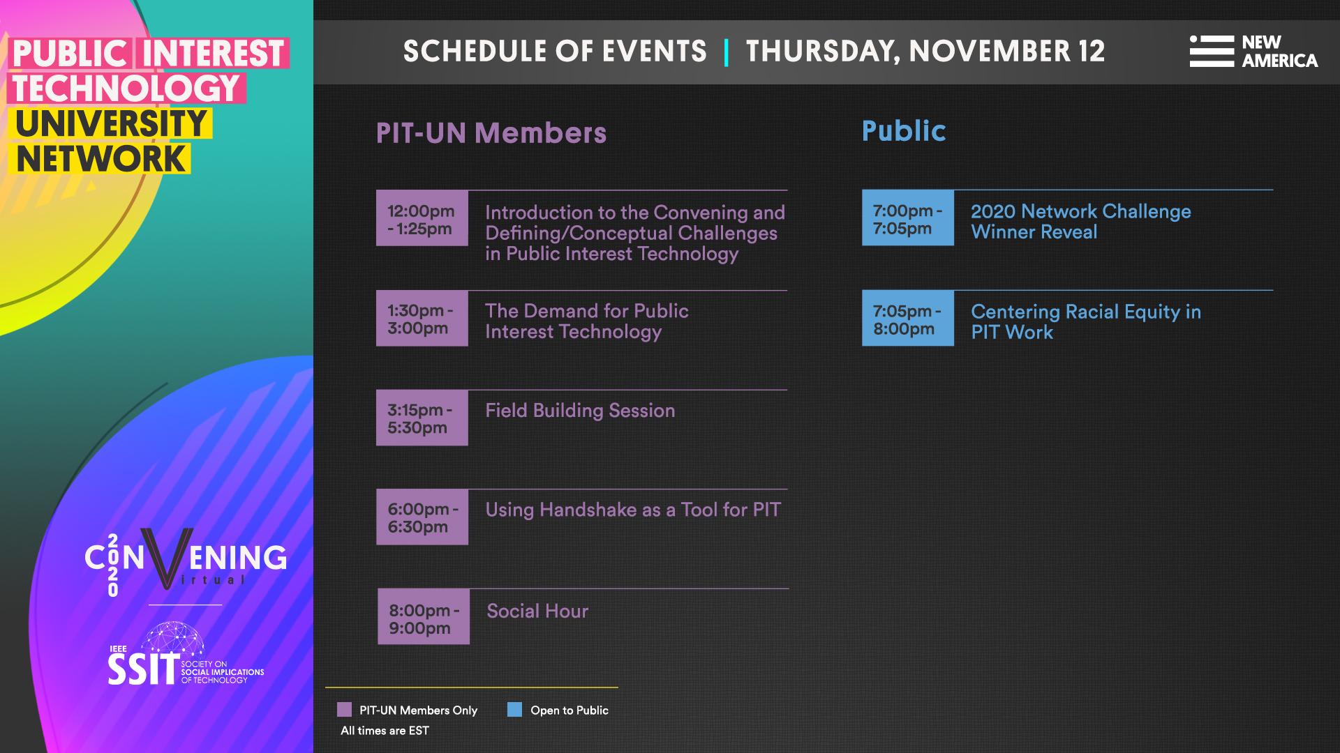 Thursday, November 12